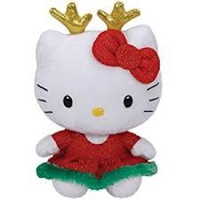 amazon ty kitty reindeer ears toys u0026 games