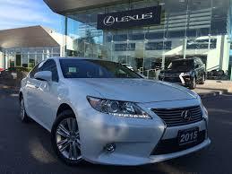 lexus is 350 bluetooth used 2015 lexus es 350 for sale markham on