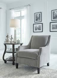 Grey Accent Chair Tiarella Ash Gray Accent Chair Sold At Brothers Serving
