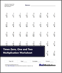 Times Table Worksheets 1 12 Extended Multiplication Facts Worksheets Photocito