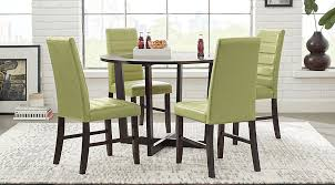 Cheap Dining Room Furniture Mabry Espresso 5 Pc Dining Set Dining Room Sets Dark Wood
