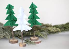 pottery barn inspired rustic felt christmas trees u2013 factory direct