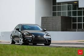 lexus vossen wheels lexus is 250 f sport black vossen wheels cars wallpaper