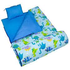 amazon com olive kids dinosaur land original sleeping bag toys