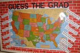 World Map Bulletin Board by The Corner On Character Guess The Grad