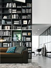 Black Book Shelves by Poliform Wall System Roby Pinterest Walls Interiors And Shelves