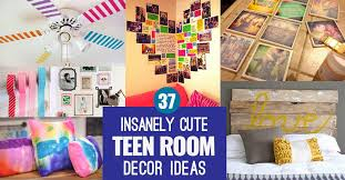 Insanely Cute Teen Bedroom Ideas For DIY Decor Crafts For Teens - Decoration ideas for teenage bedrooms