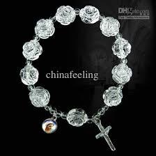 rose bead bracelet images Best acrylic rosary bracelet jesus bracelets religious jewelry jpg