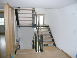 treppen aus metall eugster holzbau treppe in holz metall