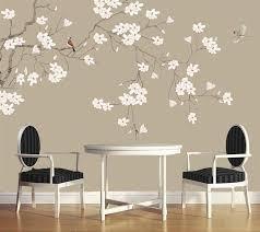 wandbild schlafzimmer tapeten wohnkultur magnolia blume chinesischen stil blume und