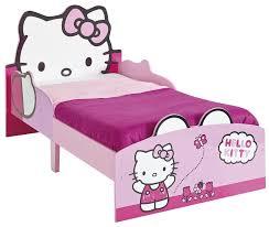 chambre hello pas cher lit fille hello 70x140 en bois mdf panneaux de protection