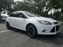 ford focus edition 2014 pre owned 2014 ford focus se 4dr car in sarasota h5345846a