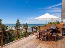 Beach House Wollongong - the blue house at wombarra beach thirroul accommodation
