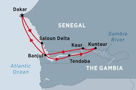 Africa Map Rivers Cruising The Rivers Of West Africa Ex Dakar Gambia Tours