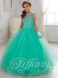 green tulle pretty jade green tulle lace up back flower girl