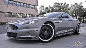 aston martin vanquish matte black aston martin dbs with custom finished cec forged wheels