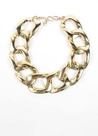 large gold link necklace images Yves saint laurent gold oversized chunky chain necklace luxury jpg