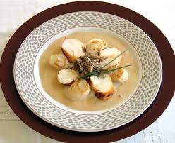 cuisiner des coquilles st jacques recette de coquilles jacques aux morilles recettes diététiques