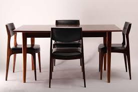scandinavian design dining table dining table and its four chairs scandinavian design from the