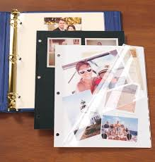 photo album pages for 3 ring binder 3 ring binder sheet protectors mylar sheet protectors exposures