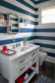 Nautical Bathroom Designs 127 Best Coastal U0026 Nautical Images On Pinterest Nautical