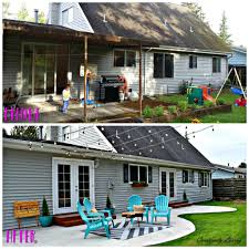 backyard makeover the big reveal creatively living blog