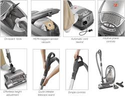 Vaccums For Sale Hoover S3670 Canister Vacuum For Pet Hair On Sale