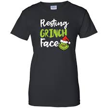 resting grinch t shirts sleeve