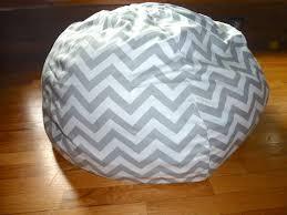 grey bean bag chair grey u0026 white chevron bean bag chair cover silver gray red