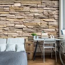 steinmauer wohnzimmer fototapete steinmauer wohnzimmer home design