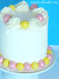easter layer cake say it with cake