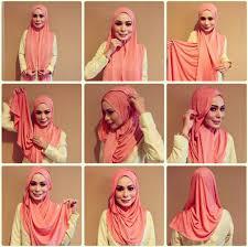 tutorial hijab pashmina tanpa dalaman ninja 7 gaya hijab menutup dada yang bisa kamu pakai di acara wisuda