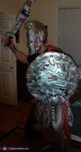 Spartan Halloween Costumes Coors Light Spartan Knight Halloween Costume Beer Cans