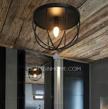 wrought iron flush mount lighting creative wrought iron e12 e14 base ceiling mount lights