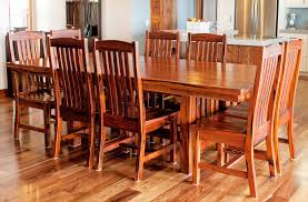 mission style dining room set dining room carpenter s woodworks