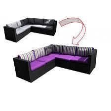 assise canape housses pour coussins de canapé extérieur 1 assise 1 dossier