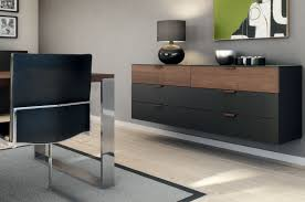 Wohnzimmerm El Sideboard Hulsta Multi Varis Black Wood Color Modern Interior