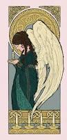 sketch diary christmas angel part 3 angela r sasser fantasy
