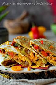 recette cuisine mexicaine recette de quesadillas au fromage le cuisine de samar