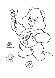 care bears melting ice cream colouring happy colouring