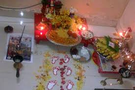 How To Decorate Janmashtami At Home Elements Used In Rangolis Rangoli Floor Art D U0027source Digital