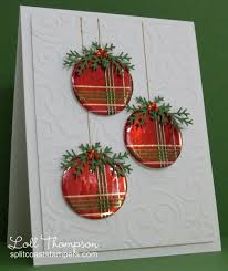 ct0114 wrapped ornaments more by loll thompson cards and
