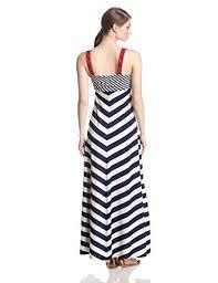 aesthetic official lucky brand women u0027s stripe maxi dress navy