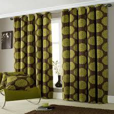 Green Bedroom Curtains Green And White Patterned Curtains Bedroom Curtains