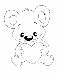 printable pictures bears kids coloring