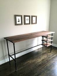 pipe desk with shelves diy piping table decorațiuni și idei