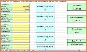 7 debt planner spreadsheet costs spreadsheet