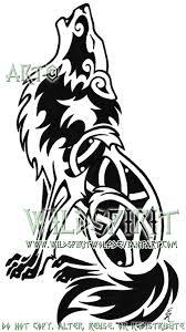 heraldic howling wolf logo by wildspiritwolf on deviantart