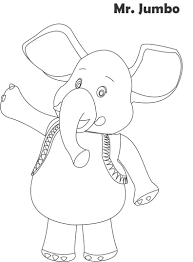 jumbo coloring pages chuckbutt com