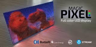 magic pixel bluetooth color led display electronics lab